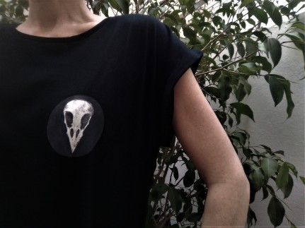 tshirt skull foto